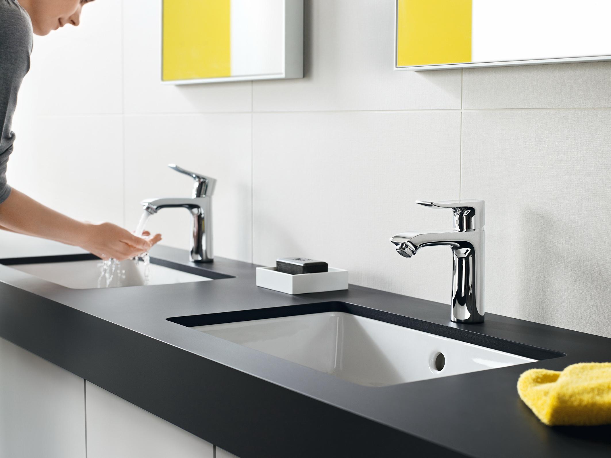 Hansgrohe bathroom faucet