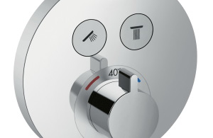 HansgroheShowerSelect_Thermostat_Round